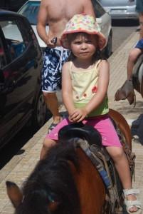 Camille's Pony Ride